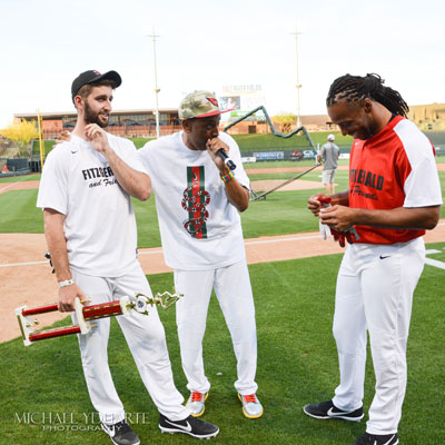 9th Annual Celebrity Softball Game - Here They Come ...