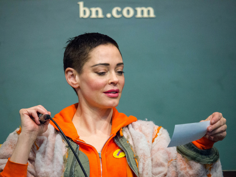 Rose McGowan slams 'fraud' Alyssa Milano after she explains Joe Biden silence